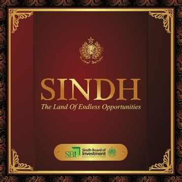 Title front - Sindh Board Of Investment, Government Of Sindh