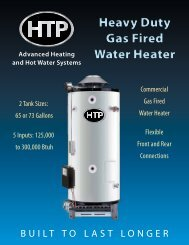 Heavy Duty Gas Water Heater