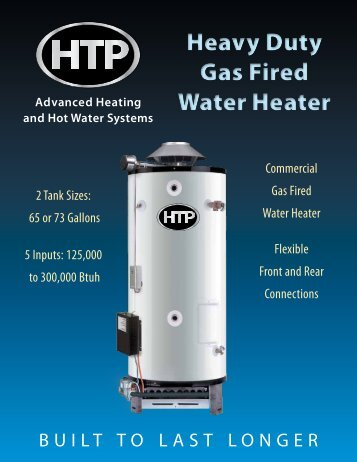 Heavy Duty Gas Water Heater