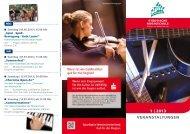 Veranstaltungsflyer 1-2013 - Musikschule Dülmen und Haltern am See