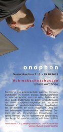 flyer - onophon