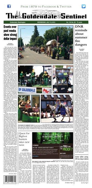 July 10, 2013 - Goldendale Sentinel