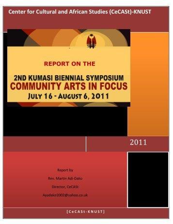 to view final report for the 2nd Kumasi Biennial ... - NKA Foundation