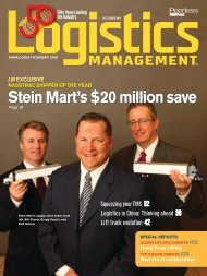 Logistics Management - October 2011