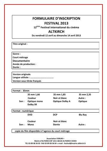 Formulaires d\'inscritpion 2013.pdf - Site officiel de la Mairie altkirch