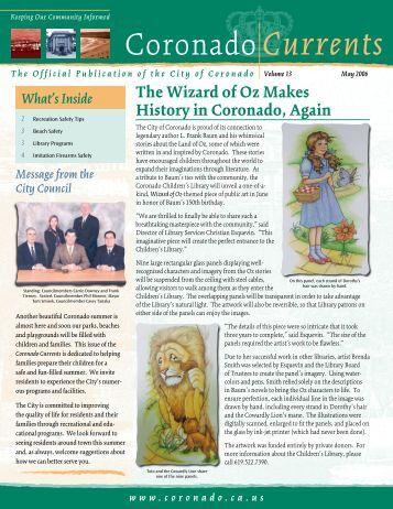 The Wizard of Oz Makes History in Coronado ... - City of Coronado
