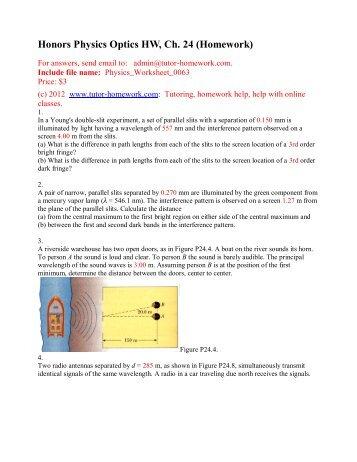 Psu webassign physics homework