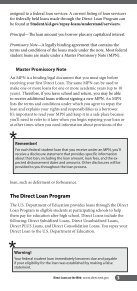 Direct Loan Entrance Guide - Belmont College - Page 7