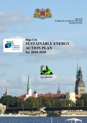 Riga City SUSTAINABLE ENERGY ACTION PLAN for 2010-2020