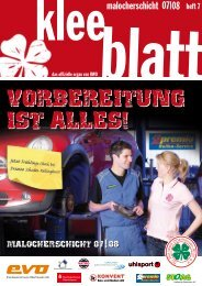 VORBEREITUNG IST ALLES! - SC Rot-Weiß Oberhausen eV