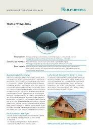 TEGOLA FOTOVOLTAICA - Soltecture GmbH