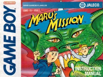 Maru's Mission - Game Boy Land