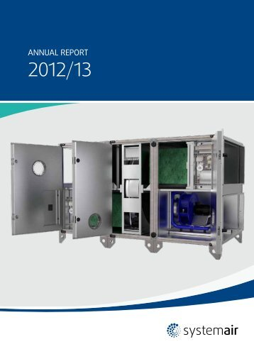Systemair Annual report 2012/13