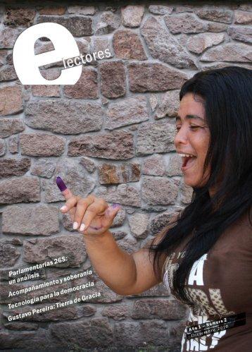 Revista E-lectores Nº2 - Consejo Nacional Electoral