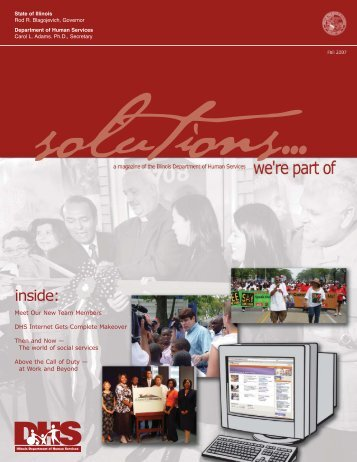 6th Issue Fall 07 - Illinois Department of Human Services