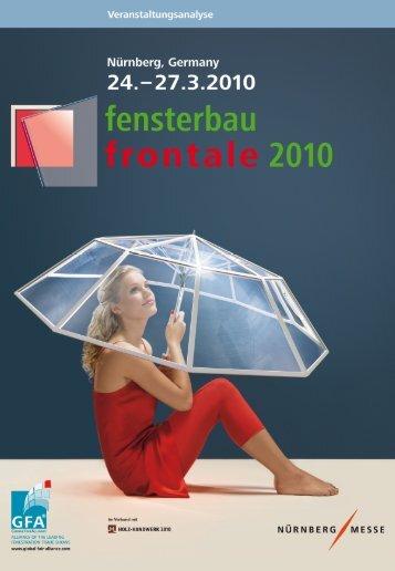 1. Strukturdaten - fensterbau/frontale
