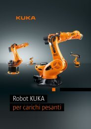 Robot KUKA per carichi pesanti - KUKA Robotics
