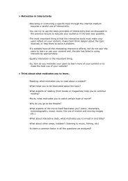 Motivation in Interactivity -Educating or instructing ... - Blog Bina Darma