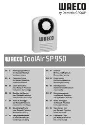 CoolAir SP950 - Waeco