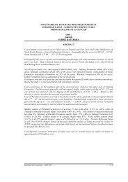 Inventarisasi Batubara di Daerah Marginal di Daerah Lahai