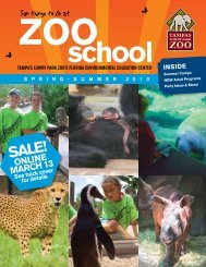 Fun things to do at - Tampa's Lowry Park Zoo
