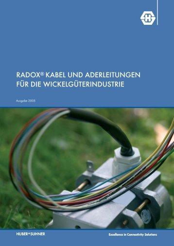 RADOX Kabel und Aderleitungen für die ... - Composites