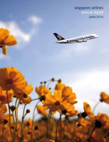 singapore airlines annual report