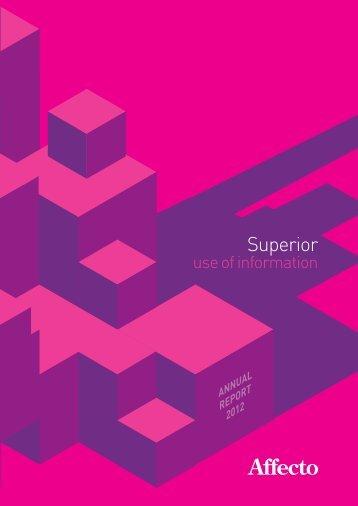 Affecto Annual Report 2012