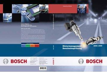 Motormanagement Benzineinspritzung - Bosch Automotive ...