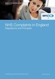 NHS Complaints in England Regulations and Principles