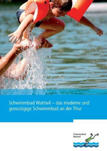 Schwimmbad Wattwil – das moderne und grosszügige ...