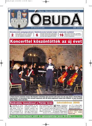 Koncerttel köszöntötték az új évet - Óbuda-Békásmegyer