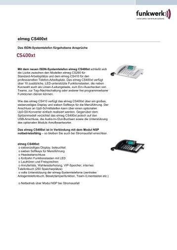 elmeg CS400xt - allnetstore.de