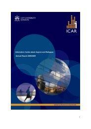 ICAR Annual Report 2008 / 2009