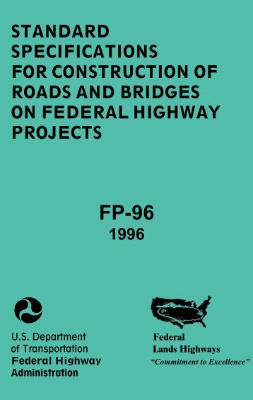 Standard Specifications for Construction of Roads and Bridges on ...