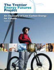 An Inventory of Low-Carbon Energy for Canada - Canadian ...