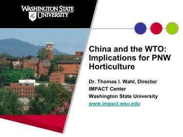 china and the wto China has a long history of oppressing political dissidents and religious believers  opponents to china's wto membership believe that china should have to.