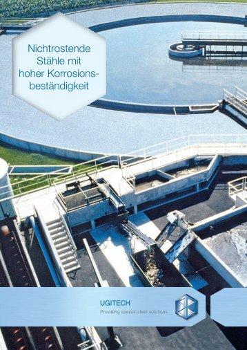 deutsche Version (pdf, 1.22 MB) - Ugitech