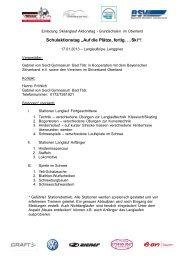 Test Dokument - Bayerischer Skiverband