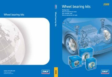 SKF Wheel Bearing Kits 2008 Catalogue - Waikato Bearings