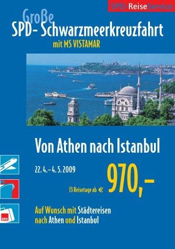 Reiseverlauf - SPD-ReiseService