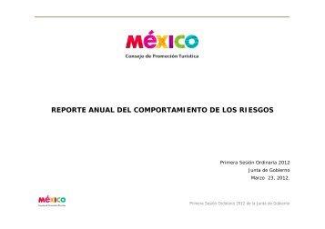 reporte anual del comportamiento de los riesgos - CPTM