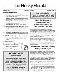 Husky Herald 10-04.p65 - Hillcrest Elementary
