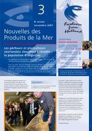 Nouvelles des Produits de la Mer - Dutchfish