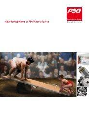 New developments at PSG Plastic Service - Psg-online.de