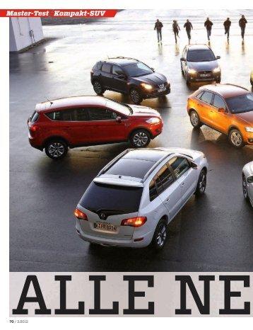 Kompakt-SUV Master-Test - Volkswagen AG