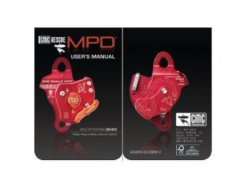 Info | CMC Rescue | MPD User's Manual 2012 English (pdf)