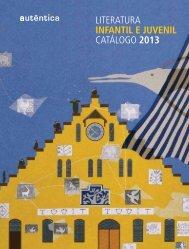 literatura infantil e juvenil catálogo 2013 - Grupo Autêntica