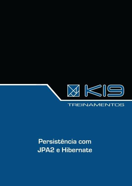 Persistência com JPA2 e Hibernate - Inpi
