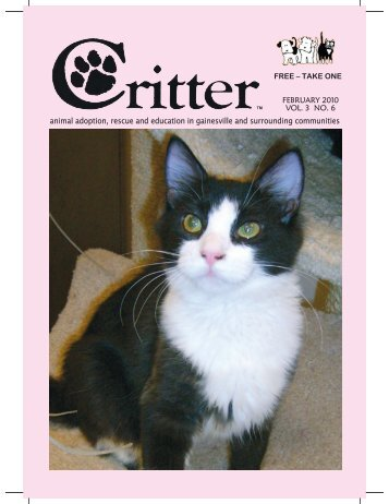 ALL PAGES-FEB 2010.pub - Critter Magazine